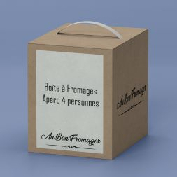 Box Fromage Plateau à Fromages Apéro 4 pers