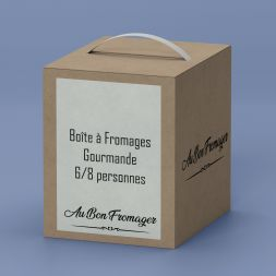 Box Fromage Plateau à Fromage Gourmand 6/8 pers