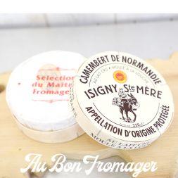 Fromage Camembert Isigny Moulé à la Louche Lait Cru