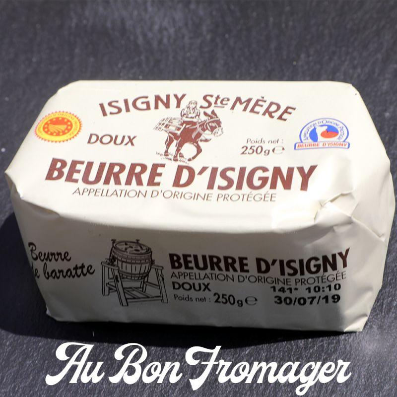 BEURRE D'ISIGNY DOUX 250GR