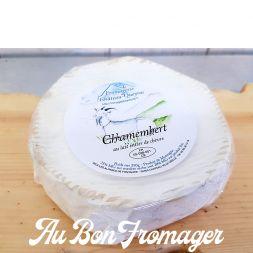 Fromagette Basilic Chèvre Fermier Lait Cru Bio St Rémy
