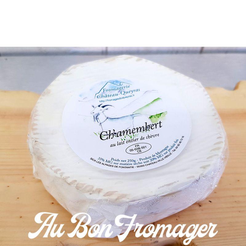 CH'AMEMBERT DE CHÈVRE DU QUEYRAS