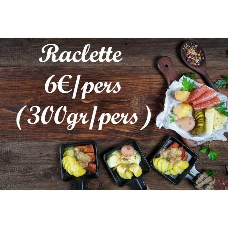 Plateau Fromages à Raclette mélangé